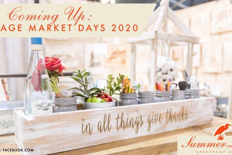 Coming Up: Vintage Market Days 2020