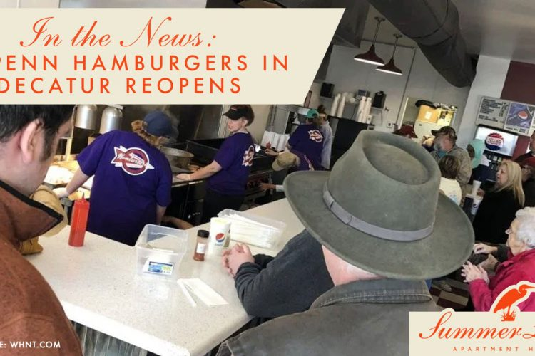 In the News: CF Penn Hamburgers in Decatur Reopens