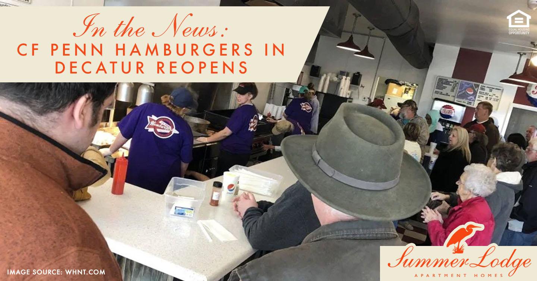 CF Penn Hamburgers in Decatur