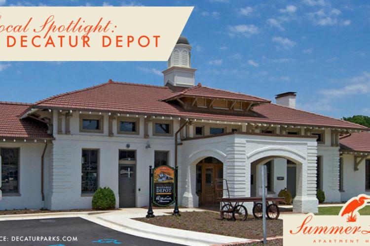 Local Spotlight: Old Decatur Depot