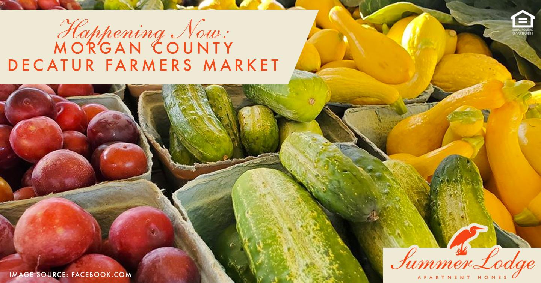 Happening Now: Morgan County Decatur Farmers Market