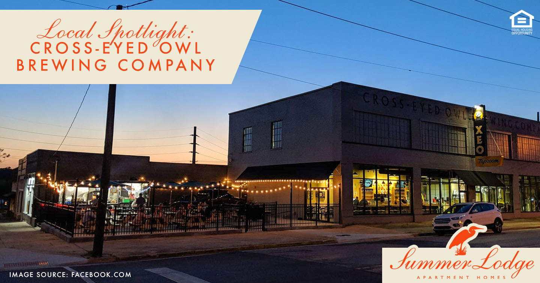 Local Spotlight: Cross-Eyed Owl Brewing Company