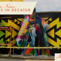 New murals in Decatur