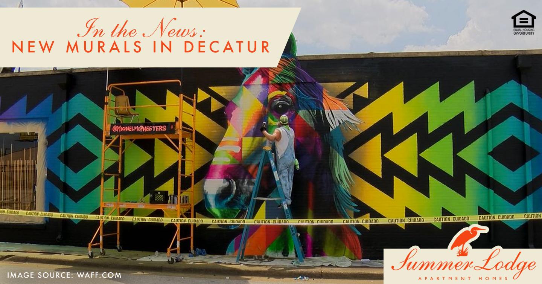 New murals in Decatur