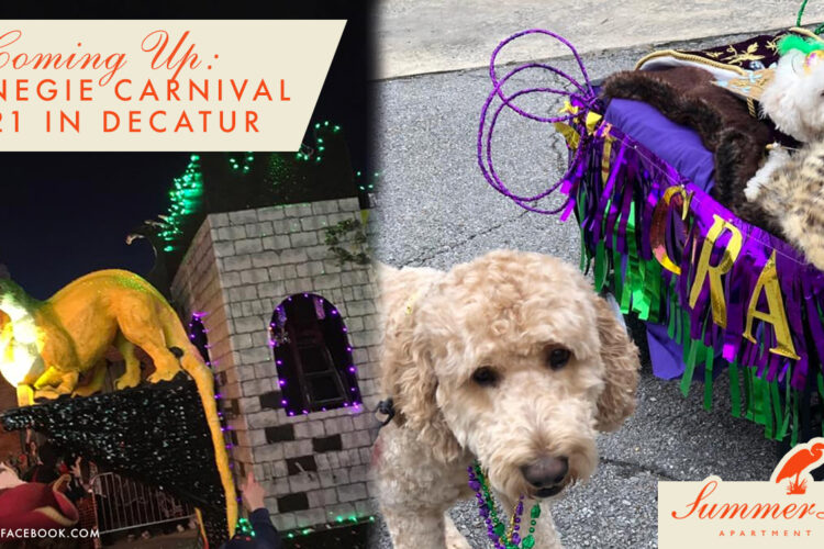 Coming Up: Carnegie Carnival 2021 in Decatur