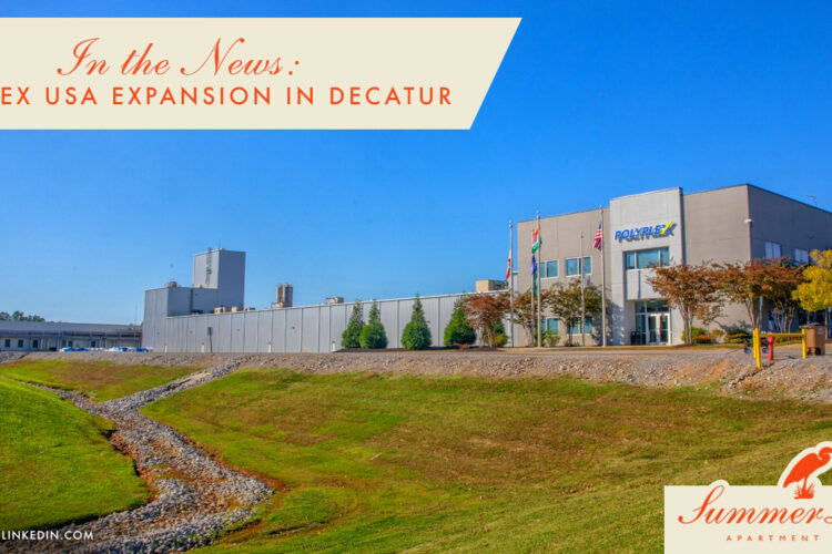 In the News: Polyplex USA Expansion in Decatur