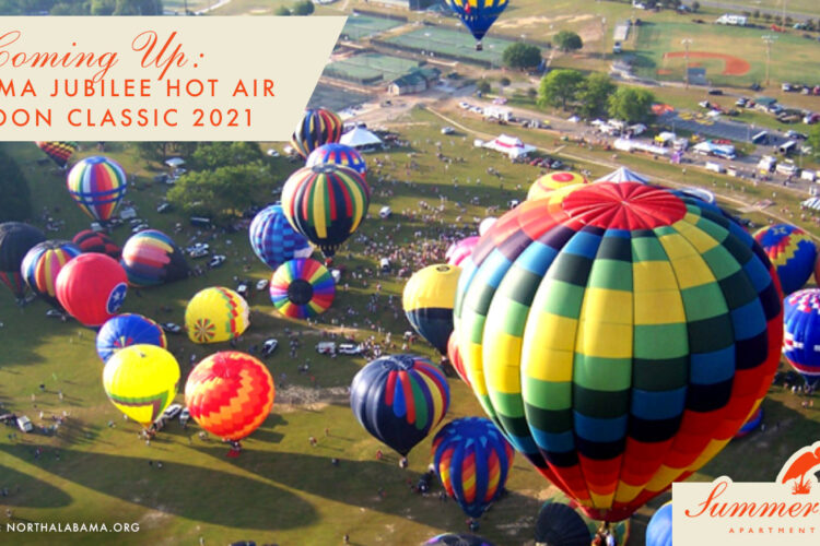 Coming Up: Alabama Jubilee Hot Air Balloon Classic 2021