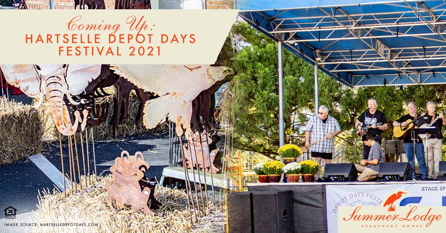 Coming Up: Hartselle Depot Days Festival 2021